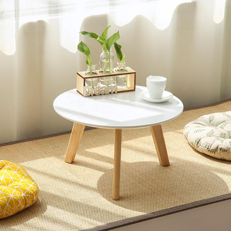 Solid Wood Tea Table Window Low Table Bedroom Small Coffee Table