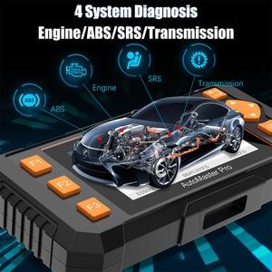 Image 2 - Foxwell – NT634 Scanner de diagnostic de voiture, outil de diagnostic de moteur ABS SRS, système de Transmission EPB TPMS DPF, réinitialisation dhuile, EOBD, OBD2