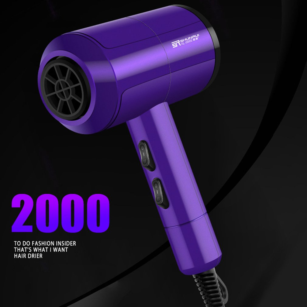 Multi-Function Household High-Power Hair Dryer Hair Salon Barber Shop Hairdressing Negative Ion Hair Dryer Drop Shipping Sale