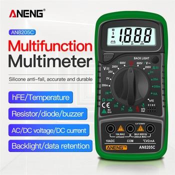 ANENG AN8205C multimetro digital profesional analogico osciloscopio polimetro tester digital multimeter profesional...