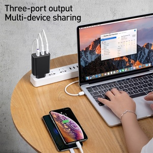 Image 3 - Baseus Quick Charge 4.0 3.0 Multi USB Charger For iPhone 11 Pro Max Xiaomi Samsung Huawei QC4.0 3.0 PD Fast Mobile Phone Charger