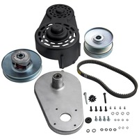 For Go Kart Torque Converter Kit 40 Series Clutch Pulley Driver Driven 8 16HP STEEL