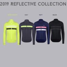Новое поступление, зимняя Светоотражающая термо-флисовая велосипедная Джерси с длинным рукавом, одежда для велоспорта, набор для горного велосипеда