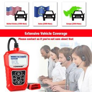 Image 5 - KONNWEI KW310 OBD ODB2 스캐너 범용 자동 진단 도구 전문 자동차 검사 엔진 코드 리더 자동차 ELM327