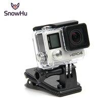 SnowHu حقيبة ظهر دوارة 360 درجة ، ملحقات Gopro ، مشبك قبعة لكاميرا GoPro Hero 9 8 7 6 5 ، sj4000 sj5000 الرياضية GP138A