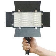 600 бусины, 40 Вт высокой мощности Светодиодный Видео светильник на Камера фотостудия светильник ing Soft Diffuser Tiktok Youtube прямая Vlog светильник