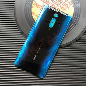 Image 4 - Originele Nieuwe Voor Xiaomi Mi 9T Pro Back Battery Cover Deur Redmi K20 Pro Achter Behuizing Glas Case Voor xiaomi Mi 9T Batterij Cover