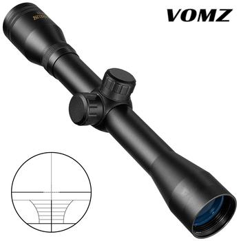 VOMZ 4x32 Scope Five Lines Centerline Hunting Optical Hare Short Air Rifle Scope Tactical Sight Shooting Airsoft Guns Riflescope 1