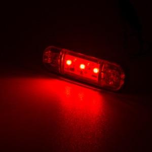 Image 5 - 2/4/6/8/10x 3 LED External Side Marker Warning Tail Light Lamp Clearance Signal Brake Indicator Trailer Truck Lorry 12V 24V