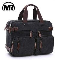 MARKROYAL Leinwand Leder Männer Reisetaschen Hand Gepäck Taschen Männer Duffel Taschen Reise Tote Verstecken Die Schulter Strap Dropshipping