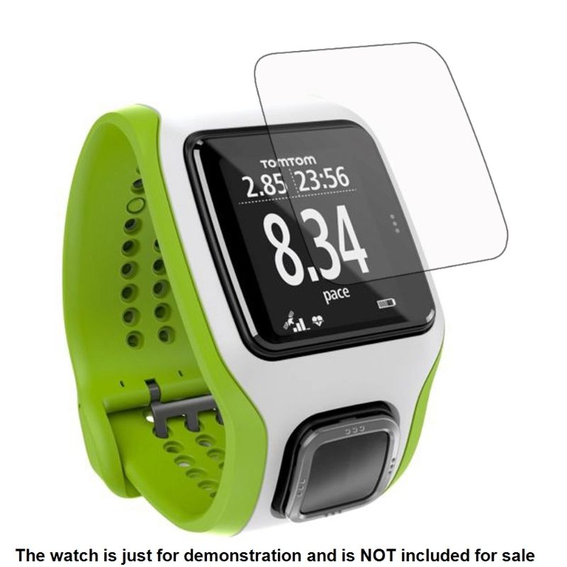 Film-Skin Lcd-Screen-Protector Smart-Watch-Accessories Tomtom Runner Sports-Cardio