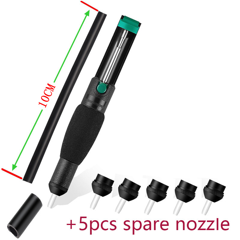 Suction Tin Desoldering Pump Anti-skid Handle Suction Pump Suction Pump Pump Welding Tool Suction Cup Soldering Sucker Pen