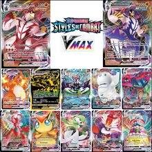 100 pces nova versão francesa pokemon cartão gx v vmax tag equipe ex mega cartões brilhantes