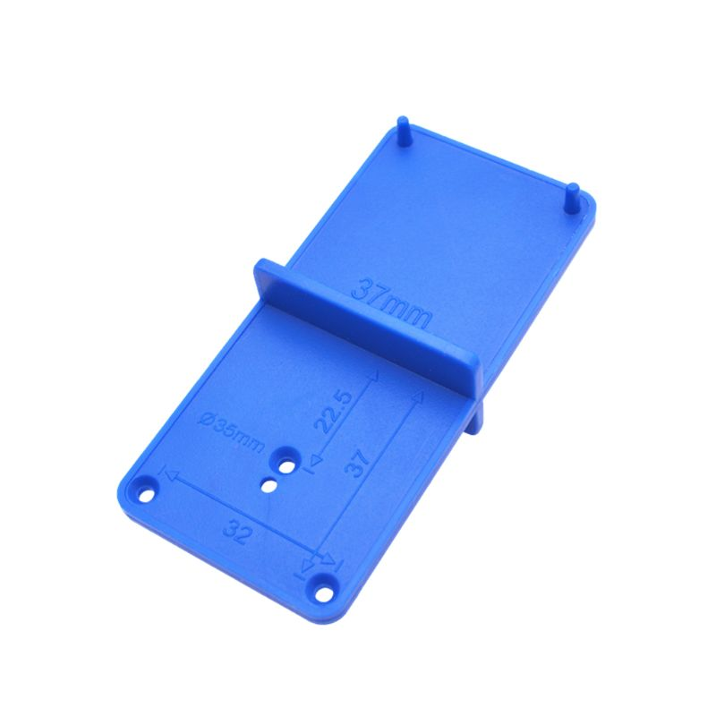 35mm 40mm Hinge Hole Drilling Guide Locator Holes Opener Template Model Door Cabinets DIY Woodworking Tool 40JE