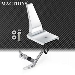 Motorcycle Stand Kickstand Extension Chrome Aluminum For Harley Softail Fat Boy Lo S FLSTFBS Deluxe Cross Bones Springer FLSTSB