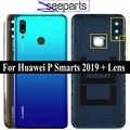 Originale Per Huawei P di Smart 2019 POT-LX3 POT-L23 POT-LX1 POT-L21 POT-LX2 Della Copertura Posteriore Della Batteria Porta custodia Posteriore In Vetro parti
