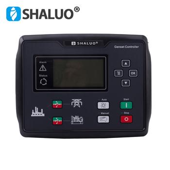 6120U AMF zestaw generatorów diesla kontroler skrzynka zaciskowa sterownik generatora LCD agregat prądotwórczy elektroniczny panel cuircuit tanie i dobre opinie SHALUO CN (pochodzenie) generator controller 12V 24V