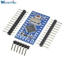 Pro Mini Module Atmega168 Atmega168P 16M 16mhz 5V pour Arduino Nano Microcontrol Micro carte de contrôle remplacer Atmega328 chargeur de démarrage