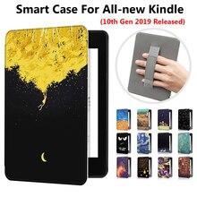 """1PC Ultra mince cuir Smart Case magnétique 6 """"e books lecteur couverture main support pour Amazon tout nouveau Kindle 10th Gen 2019 libéré"""