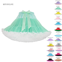 Short Puffy Cosplay Petticoat Crinoline Mini Halloween Tulle Dress Woman Underskirt Rockabilly Tutu Skirt For Evening Party Prom