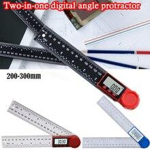 0-200mm Protable Digital Meter Angle Inclinometer Angle Digital Ruler  Goniometer Protractor Angle finder Measuring Tool
