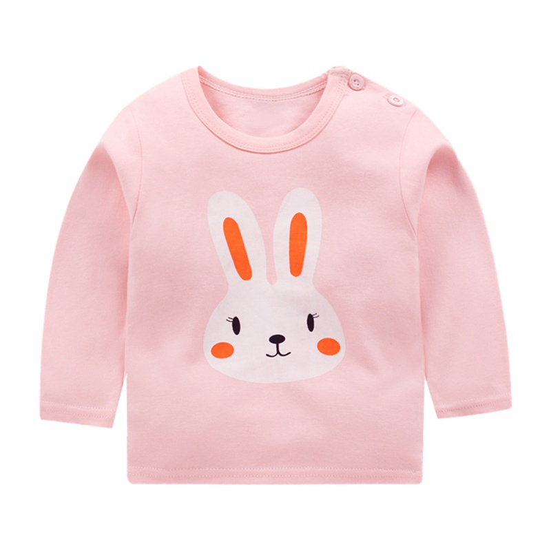 Autumn Winter Kids Sweatshirt Tops New Pullover Tee Long Sleeve T-shirt Baby Boys Girls Clothes 2