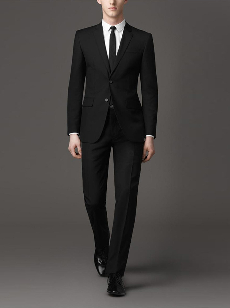 Suit Men Two Piece Set Business Work Business Formal Wear Groom Marriage Suit Korean-style Slim Fit Small Suit
