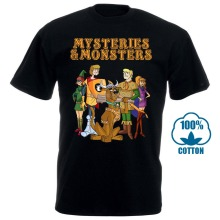 New! Dungeons And Dragons Shirt Monsters Mysteries Scooby Doo D&D Premium
