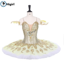 White gold Adult and child girl Professional Classical stage Balle Tutu Nutcracker Costumes custom BT9152