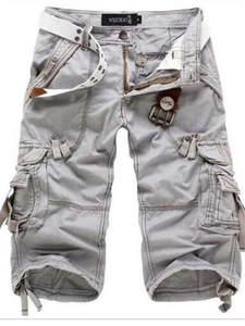 Short Pants No-Belt Homme Loose Men Camo Camouflage Summer Plus-Size 8-Colors 29-42 New-Brand
