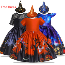 Kids Dresses For Girls Birthday Princess Dress Flower Girls Dress For Girls Party and Wedding Dress Children Halloween Costumes цена в Москве и Питере