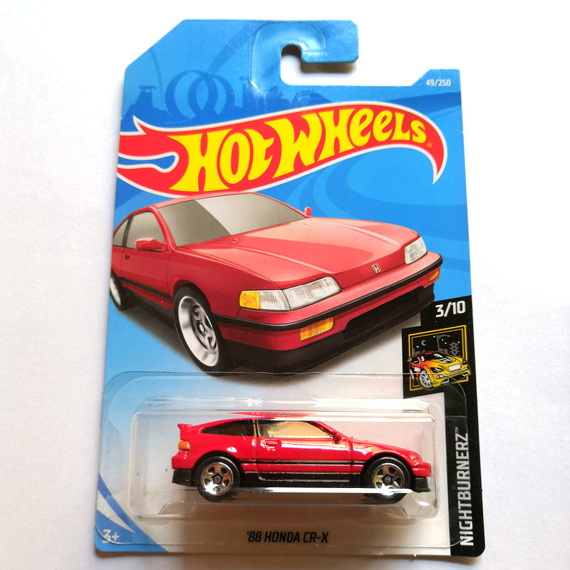 Hot Wheels 1:64 Car HONDA CIVIC TYPE R  EF HONDA CR-X  HONDA CITY TURBO Collector Edition Metal Diecast Model Cars