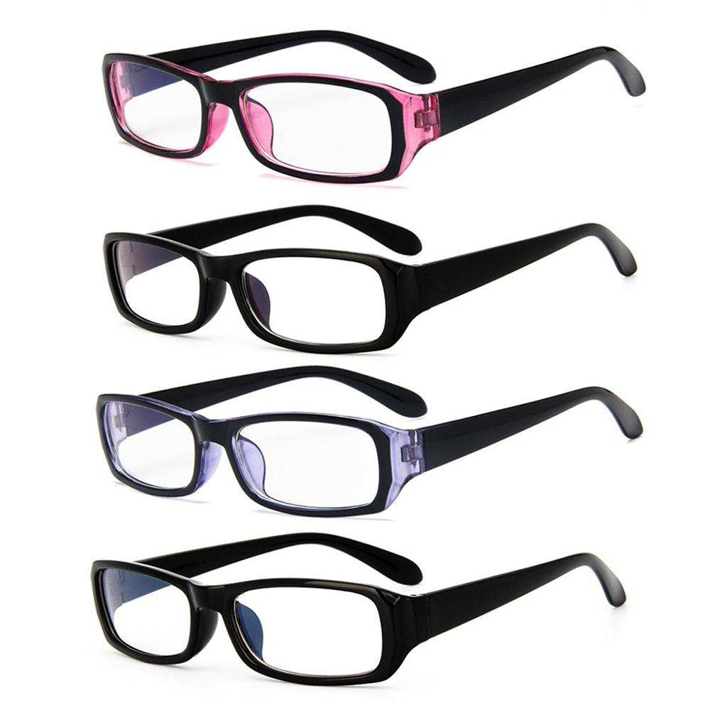 Blue Light Blocking Computer Goggles Students Classic Square Frame Glasses Anti-fatigue Unisex Clear Lens Durable