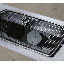 Год GT Алмазная ABS передняя решетка для мёда сетка решетка для A4 B9 автомобиля стиль сетки решетки