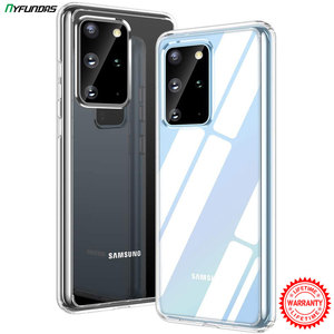 Clear Phone Case For Samsung Galaxy S20 Ultra S10 Plus S9 S10e Note 10 9 A51 A71 A50 A70 A40 A20 A30 A30s Cover Capa Accessories