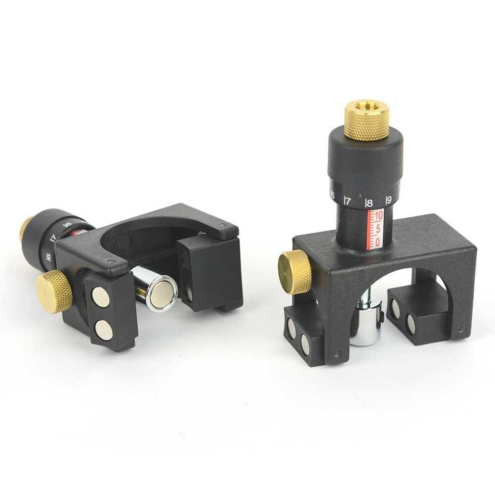 2 шт. Регулируемый магнитный строгальный станок калибратор лезвия калибратор Зажим калибр ABS деревообрабатывающий инструмент|Шаблоны| | АлиЭкспресс