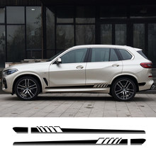 2 sztuk samochodów naklejka na BMW X1 F48 E84 X2 X3 F25 E83 X4 F26 X5 E70 E53 F15 X6 F16 E71 X7 M2 F87 M3 E90 E92 M4 M5 M6 akcesoria samochodowe