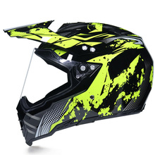 Motorcycle Helmet Removable Lens Dual-purpose Windproof Full-face Motocross