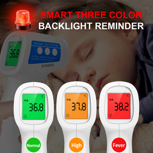 Image 4 - Cofoe Forehead Non Contact Infrared Baby Thermometer LCD Body Temperature Fever Digital IR Measurement Tool Gun for Baby Adult