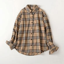 Good Quality Plus Size Fall Plaid Blouse 2018 Women Turn Down Collar Long Sleeve blouse Shirt Stylish Autumn Blouse For Women