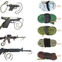 Zestaw narzędzi do czyszczenia karabinów, broń myśliwska, czyszczenie wylotu, kaliber, wąż, lina, 0,22/0,223/0,38