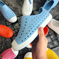 Новинка 2019 года; детская обувь из прозрачного пластика; обувь из Крока; Scarpe; детские ботинки для сада; пляжные сабо из ПВХ