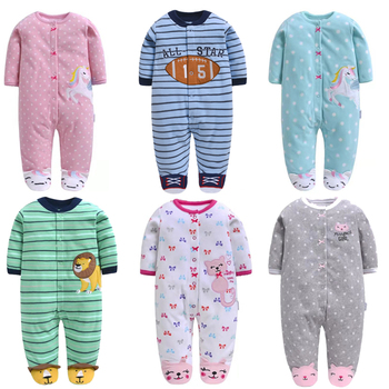 2019 spring and autumn baby Cartoon fleece romper for warm infant onesies for boy girl baby girl winter clothes bebe jumsuit super warm baby romper for boy girl cosplay bear autumn winter romper hooded fleece baby clothes jumpsuit 2019 new arrival d30