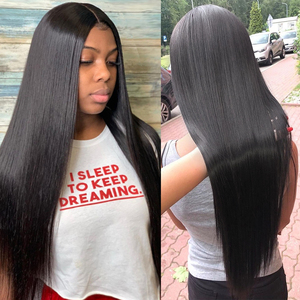 Image 5 - 30 32 36 40 Inch Straight Hair Bundles Long Length Indian Hair Weave Bundles 100% Human Hair Extentions Natural Color Remy Hair
