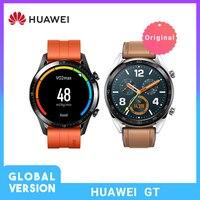 In Stock Global Version HUAWEI Watch GT Waterproof Smart Watch Sleep Heart Rate Tracker Support GPS Sport Tracker SmartWatch