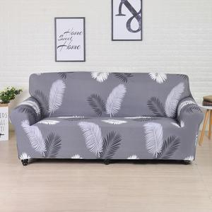 Image 2 - Jednokolorowa Sofa poliestrowa o wysokiej elastyczności antypoślizgowa kanapa narzuty uniwersalne meble ochraniacz na krzesło