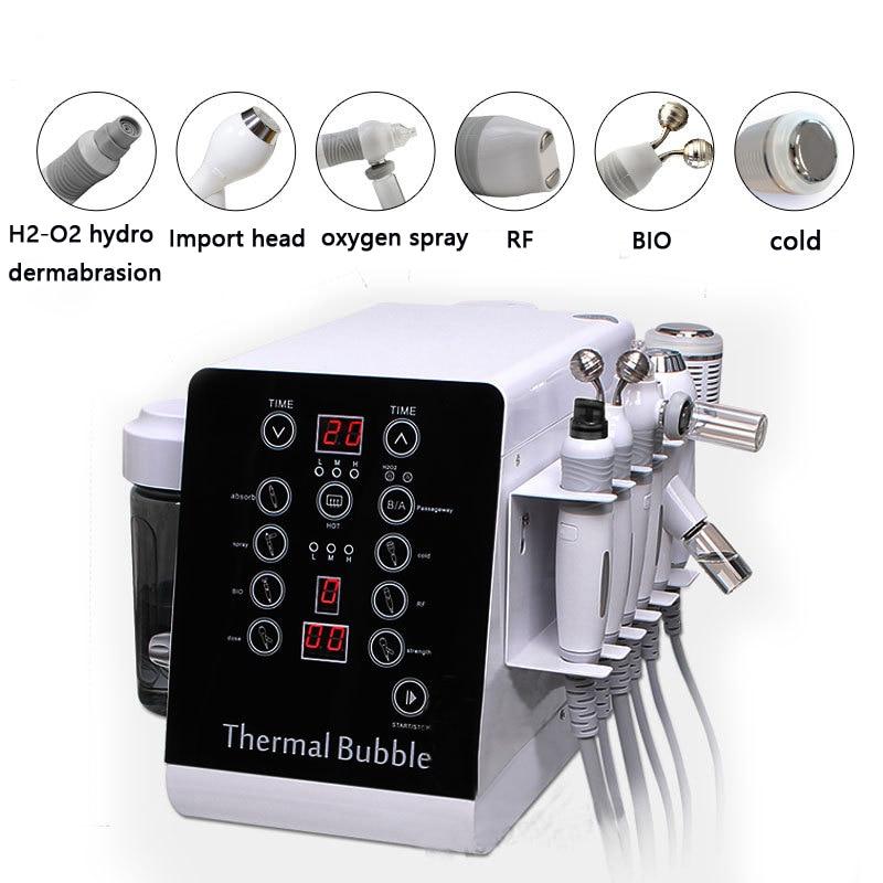 Best Selling BIO RF Cold Hammer Hydra Dermabrasion Oxygen Facial Skin Cleaning Machine