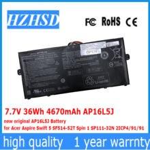 Новый оригинальный аккумулятор ap16l5j 77 В 36 Вт/ч 4670 мАч