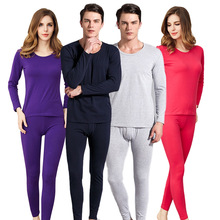 Autumn and Winter Men's and Women's Combed Cotton Thermal Underwear Can Not Afford The Ball Does Not Fade Elastic Thermal crime does not pay vol 10
