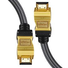 HDMI a HDMI Cavo di 1 m 2 m 3 m 5 m 10 m Maschio un Maschio di Alta HDMI 4 K 3D 1080 P per Tablet Videocamera MP4 DVD